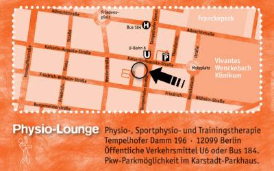 Wie es zur Physio-Lounge kam